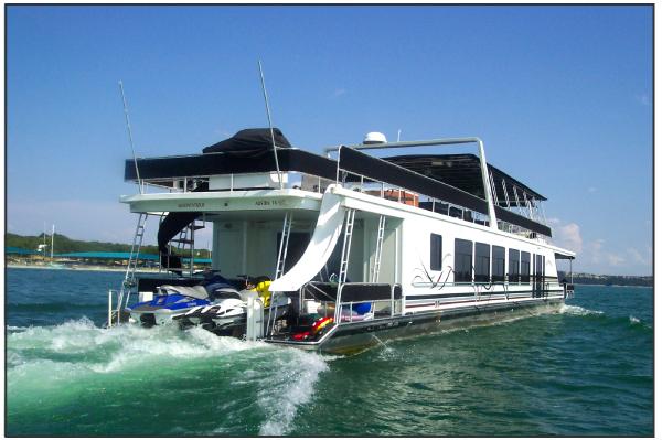 We Build Houseboats Used